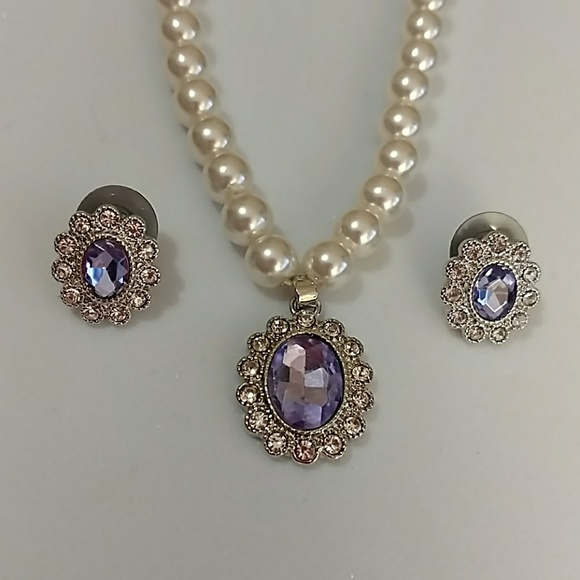 61239f82166d0 NWT!!! Stunning Monet Necklace & Earring Set! NWT